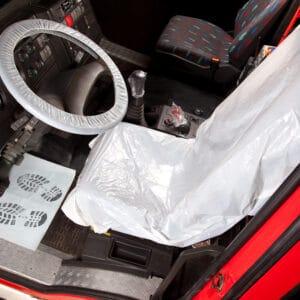 Clean Set Truck für den Schutz des LKW-Innenraums.